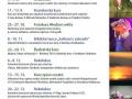 Program penzionu Panský dům v Rožmitále pod Třemšínem 1