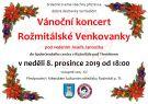 Vánoční koncert Rožmitálské Venkovanky