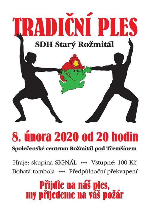 Ples SDH Starý Rožmitál