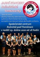 Jarní koncert Rožmitálské Venkovanky