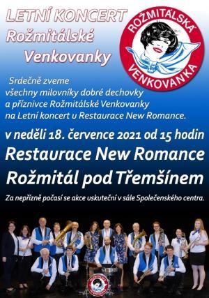 Letní koncert Rožmitálské Venkovanky
