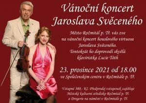 Koncert Jaroslava Svěceného