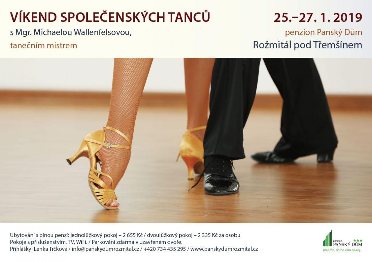 Víkend společenských tanců